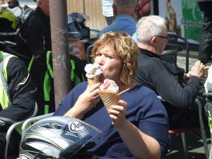 Een ijsje was dit keer niet genoeg.